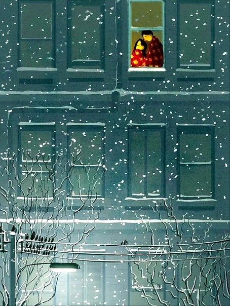 — Холодает, скоро уже зима.❄