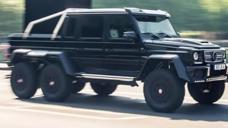 CANELOS $1.3 MILLION MERCEDES-BENZ BRABUS G63 6x6 TRUCK ONLY 200 IN THE WORLD