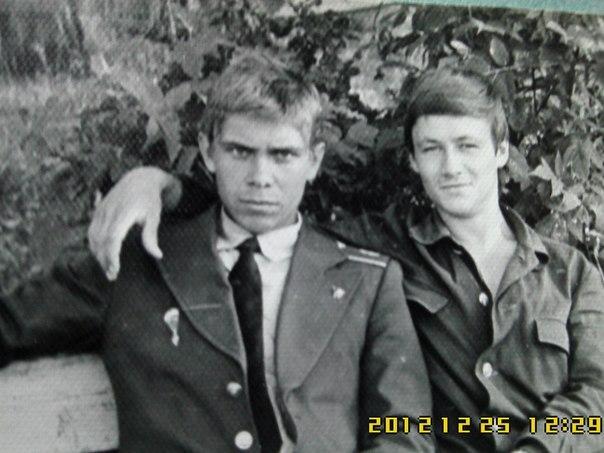 1981 курсант летного училища