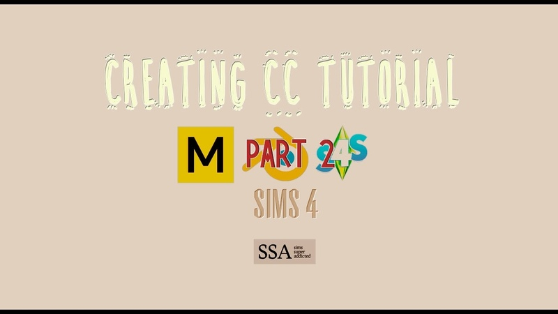 {SIMS 4} My process of making CC - part 2