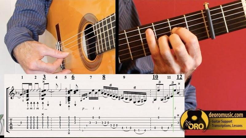 Flamenco Guitar Lesson TABS | Soleá por Bulerías 4 | Diego de Oro
