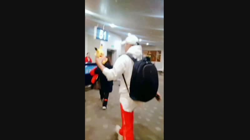 181129 ZTAO @ PEK departure