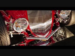 Одна из машин старого времени. Форд 1966г. Built Classic Car Stance Feature Movie