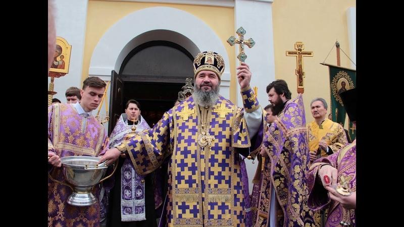 В НЕДЕЛЮ ТОРЖЕСТВА ПРАВОСЛАВИЯ АРХИЕПИСКОП ЮСТИНИАН СОВЕРШИЛ ЛИТУРГИЮ В КАЗАНСКОМ СОБОРЕ ЭЛИСТЫ.