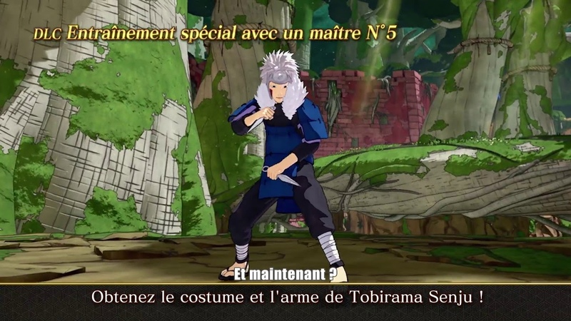 Naruto to Boruto Shinobi Striker • Tobirama Senju Trailer • FR • PS4 Xbox One PC