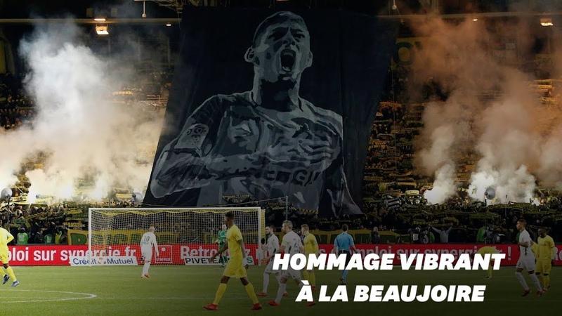 Nantes rend hommage à Emiliano Sala