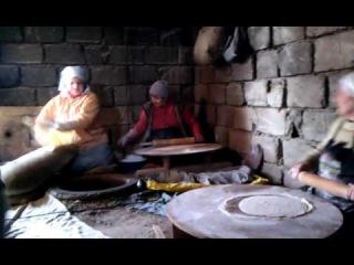 Армянский лаваш: традиционное приготовление