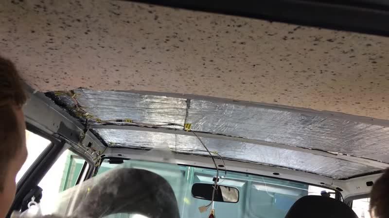[VAZ четырка] Шумоизоляция крыши ВАЗ-2114. 7 Видео