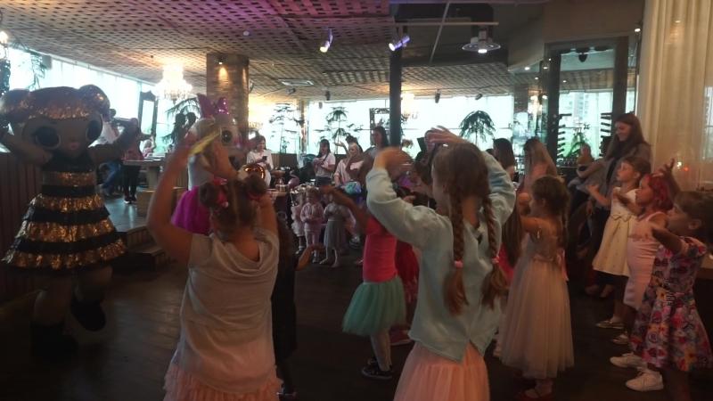 Куклы LOL в ресторане Гуси Лебеди 12.08.2018