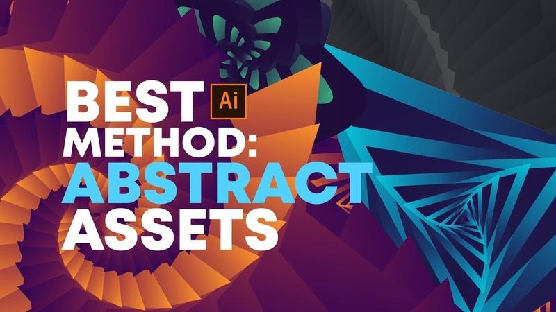 Illustrator Tutorial Best Method for Abstract Design Assets