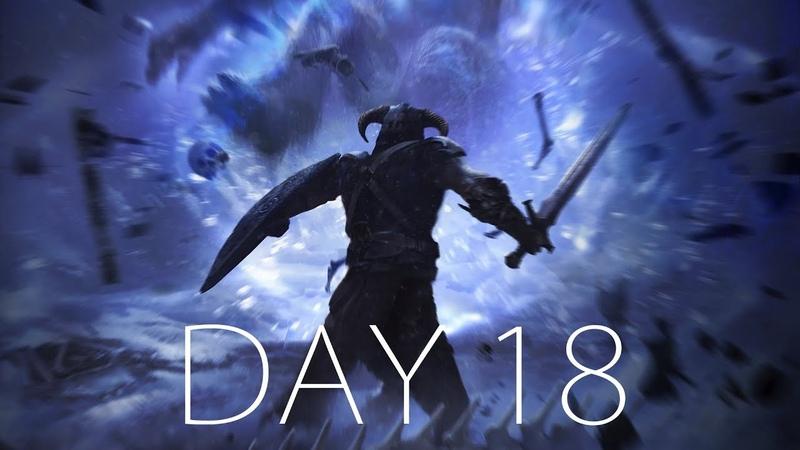 СОБЛЮДАЯ ТРАДИЦИИ, В ПОИСКАХ ТАРЕЛОЧКИ ● SKYRIM HARD - Day 18