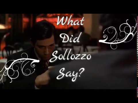 The Godfather - Italian Restaurant Scene Subtitled Translated
