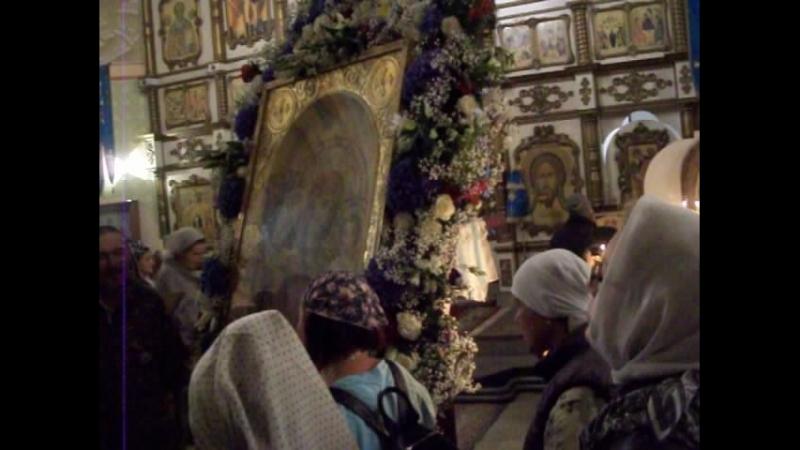 Молитва Богородице Дево радуйся В Коробейниково хорошо исполненная г