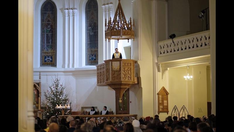 3 воскресенье после Богоявления. Проповедь - Архиепископ ЕЛЦ России Дитрих Брауэр.