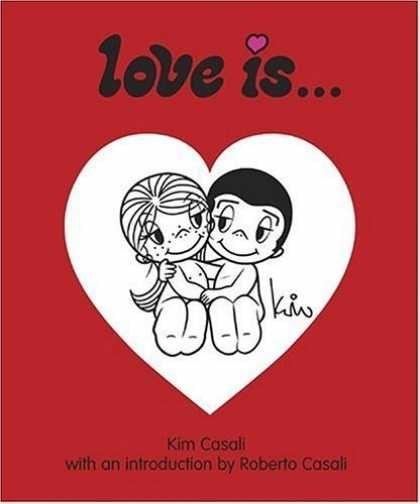 она рисовала «Love is…