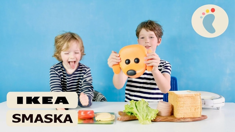 IKEA SMASKA челлендж сендвич и Lunch box контейнер для завтрака ИКЕА СМАСКА