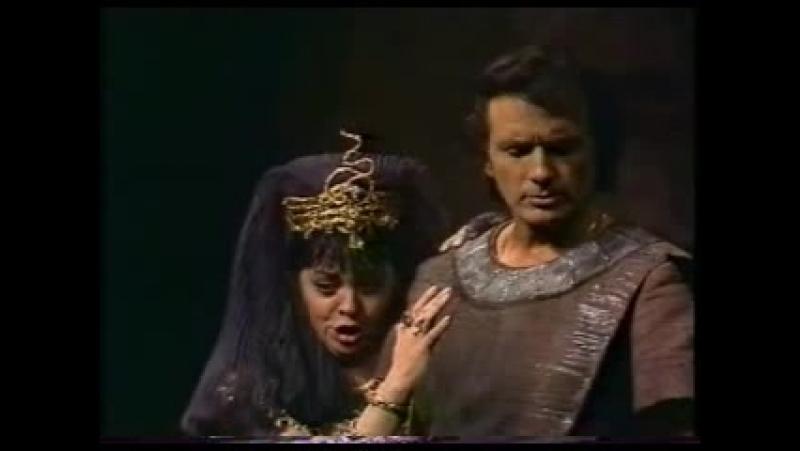 Дуэт Амнерис и Радамеса из 4-го акта оперы Аида.
