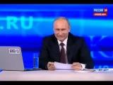 ПОЗИТИВ!!! 6 летняя девочка задала вопрос Путину про Обаму