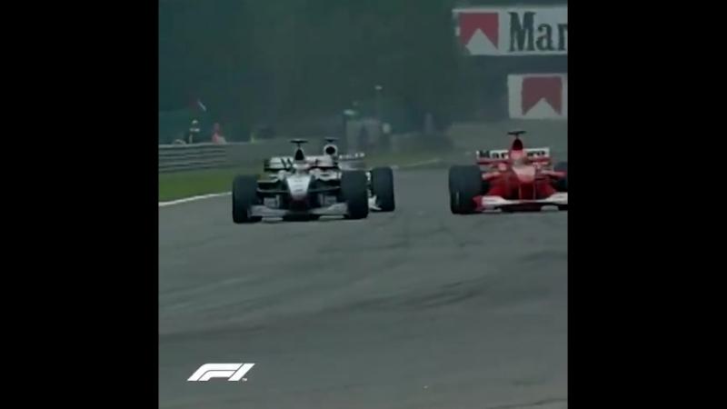 Belgium 2000: Hakkinen sweeps past Schumacher