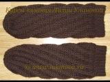 Спиральные носки крючком - 2 часть -  Crochet socks without heels