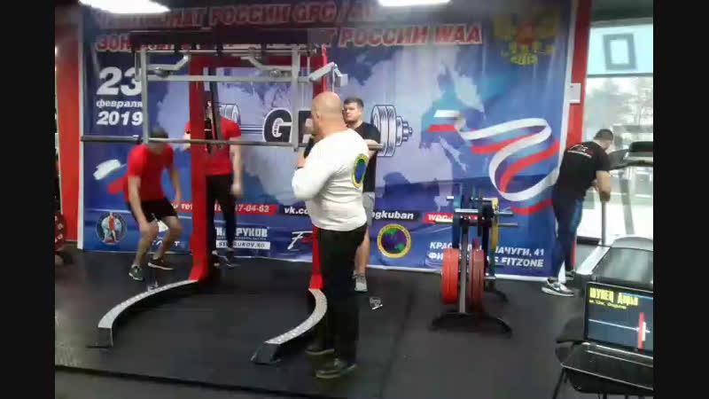 Чемпионате России GPCAGPC по пауэрлифтингу