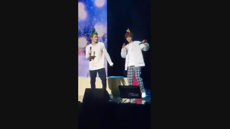 181202 NCT Dream Show 2 Day 2 Jaemin and Mark dancing to Joy 😭💚