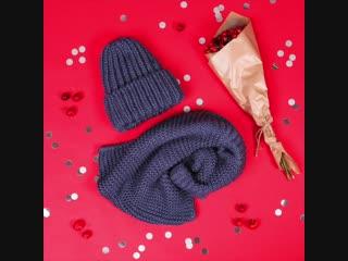 Встречай уютную акцию от tom tailor! сделай покупку от 10000р и получи стильный комплект из теплой шапки и шарфа-снуда!