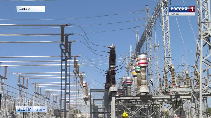 Сегодня первые 28 Мегаватт электроэнергии из Крыма направили на Кубань