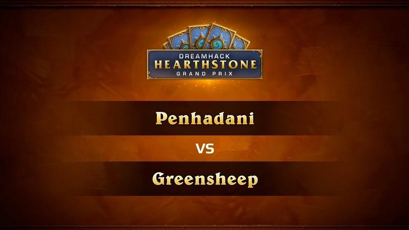 Penhadani vs Greensheep, 1/2, DreamHack Summer 2018