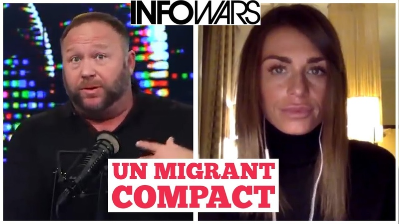 Faith Goldy Alex Jones on U.N. Migrant Compact - YouTube