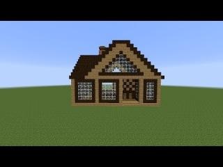 Видео майнкрафт как сделать красивый дом фото 359