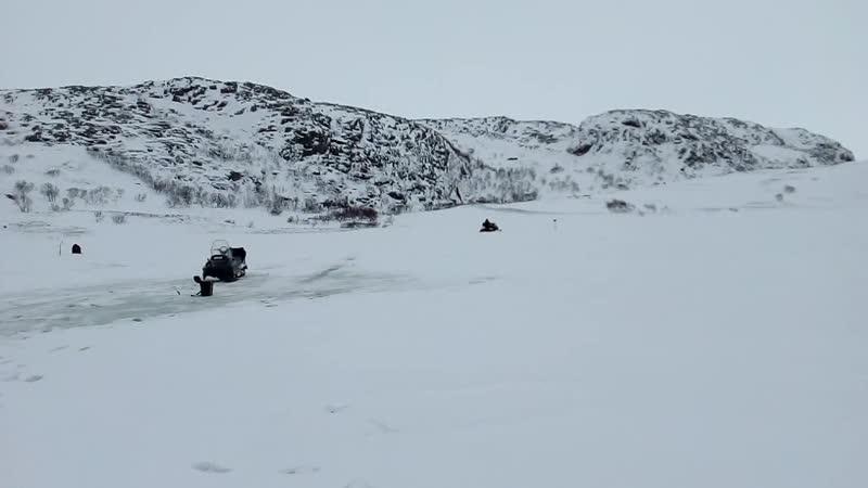 Разведка озерца