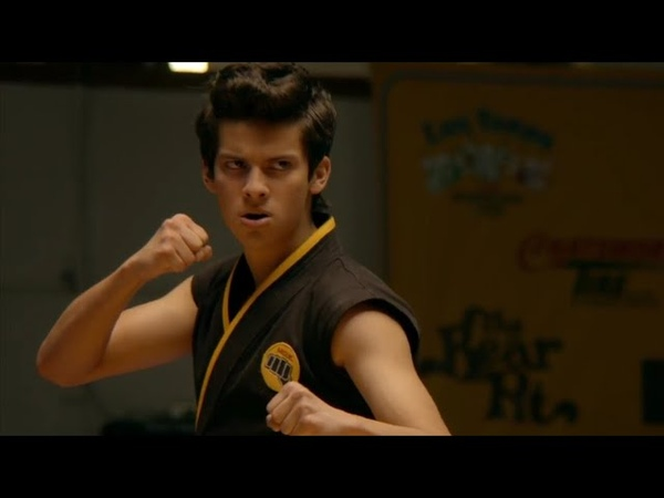 Miguel becomes a Beast Cobra Kai Can't Hold Us Macklemore ft Ray Dalton