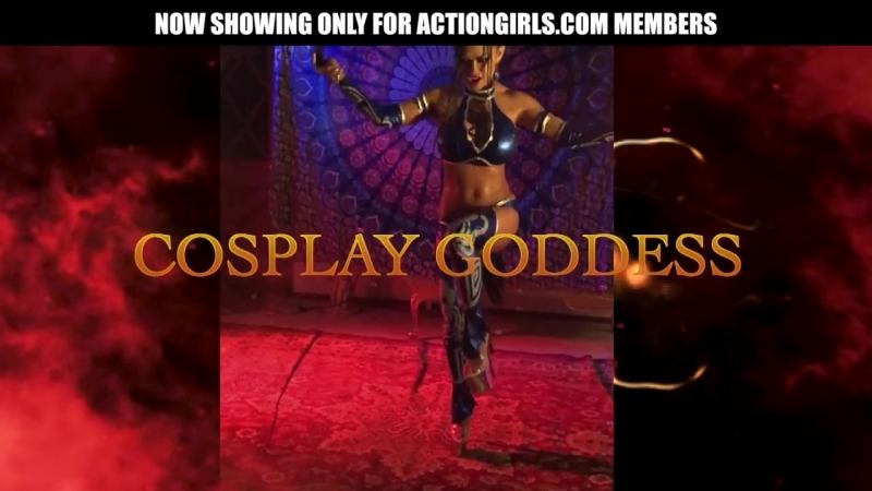 Goddess Armie Mortal Kombat Kitana Cosplay