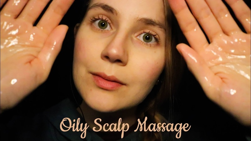 ASMR Scalp Massage with Oil ( Lotion, Gel More)