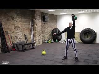 Виктор Блуд - Как накачаться с помощью Гири. Тренировка всего тела