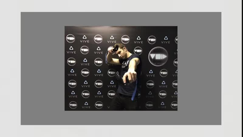 Промо-ролик очков виртуальной реальности от htc