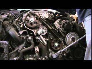Замена ГРМ Audi A4 1 8 AEB, ATW, ADR и др 20 ти клапан