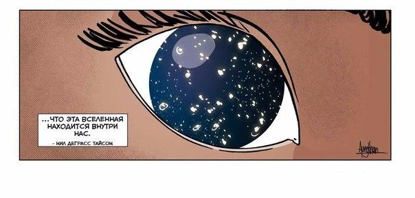 Самый поразительный факт Читатель журнала TIME спросил у Нила ДеГрасса Тайсона, известного астрофизика: Каким поразительным фактом о Вселенной вы можете с нами поделитьсяЭто ответ