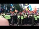 Митинг шахтёров у стен Верховной рады 3