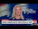 Kellyanne Conway says asking about her husband's anti-Trump tweets is a 'double standard'