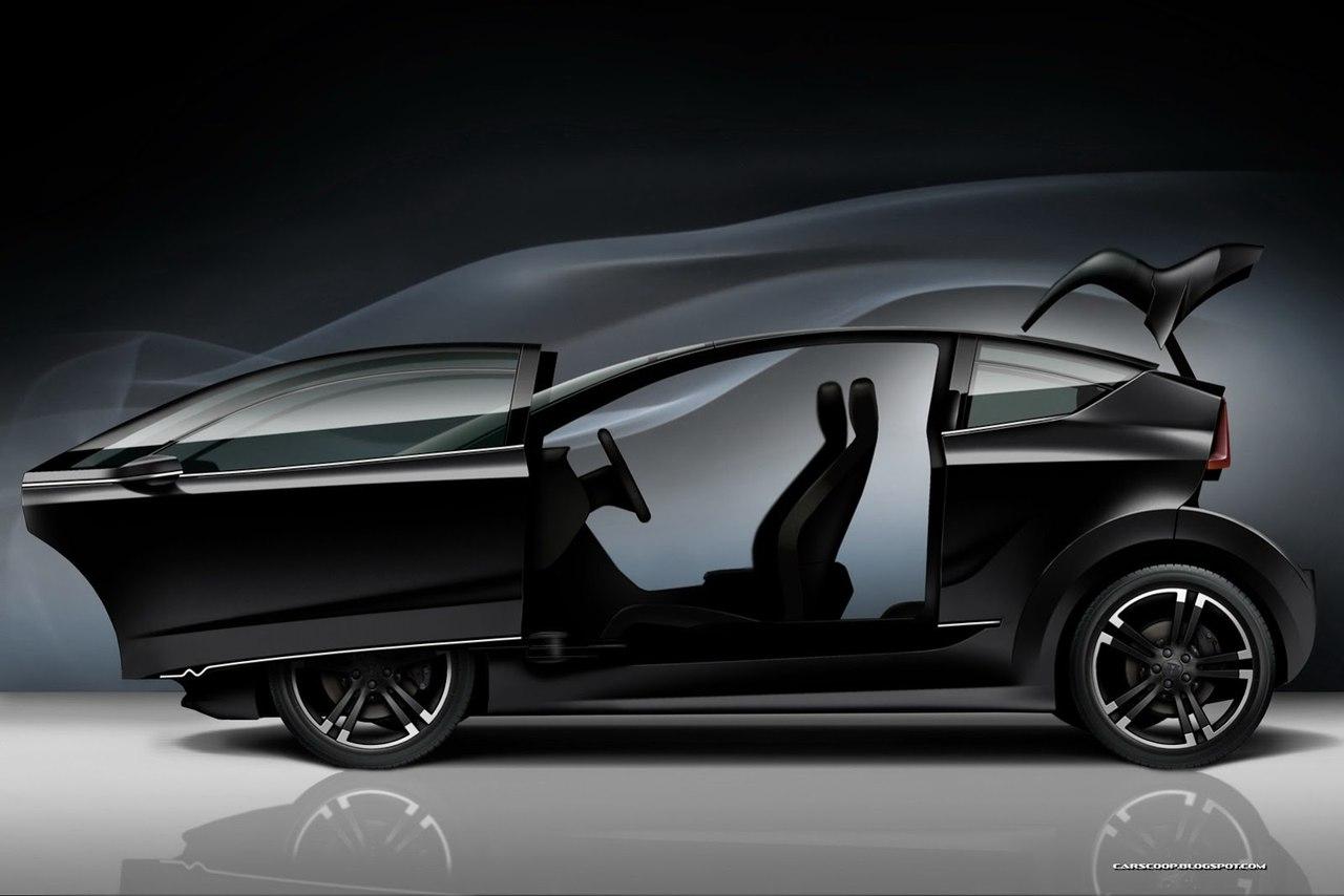 Tesla Model E - фотография будущей машины