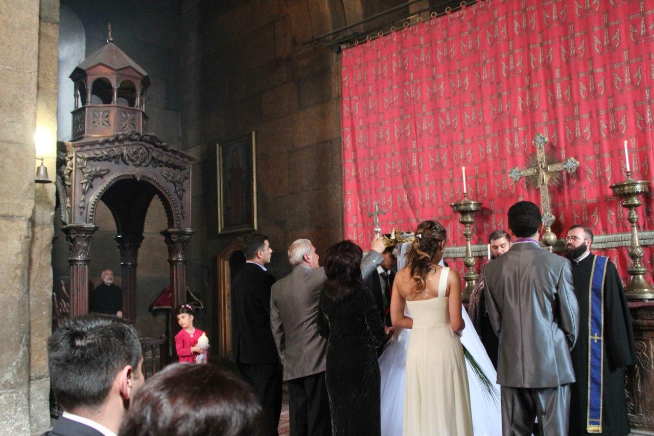 армянское венчание церковь