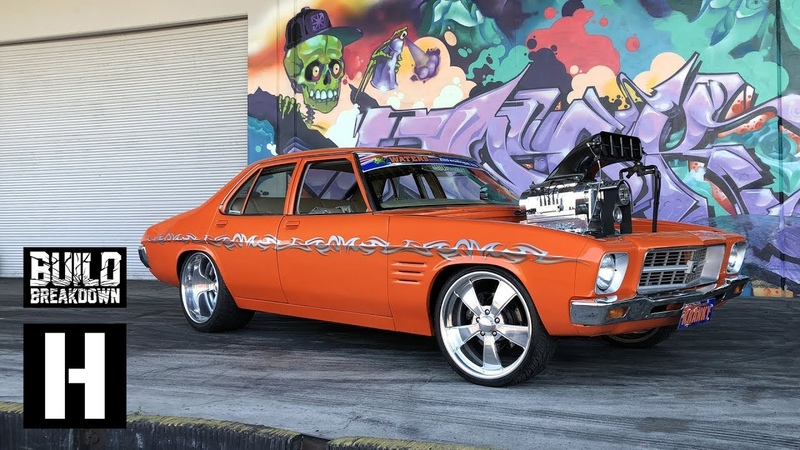 Kranky Invades the Yard 1400hp WILD Aussie Burnout Machine smokes us out