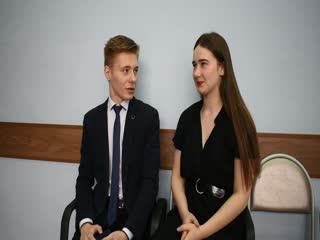 Мисс Гимназия 2019 интервью с Лидией Колесовой