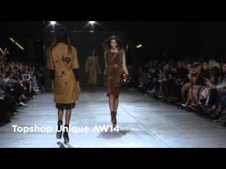 Topshop Unique London Fashion Week show: Topshop Unique AW14 Collection