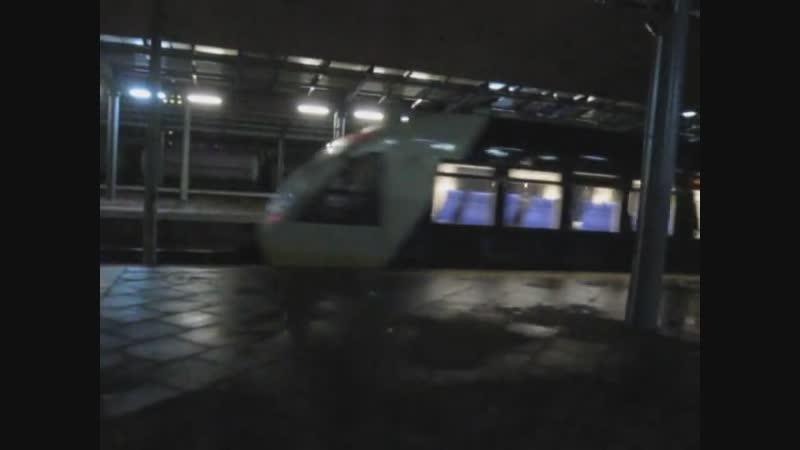 Дарниця, вечір, Kyiv Boryspil Express у напрямку на Бориспіль. Така от заселеність...