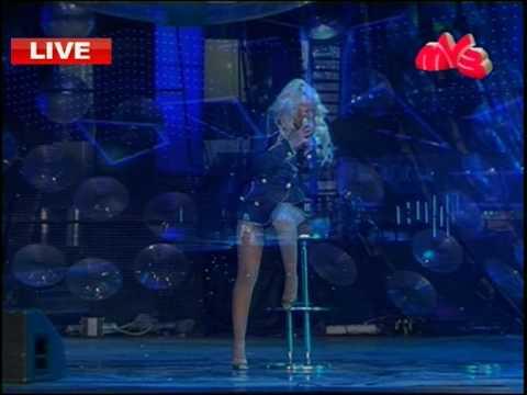 Christina Aguilera Hurt Muz tv 2007 Russia HQ