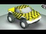 Çizgi Film - Yarış Arabası - Sağ ve Sol öğreniyoruz
