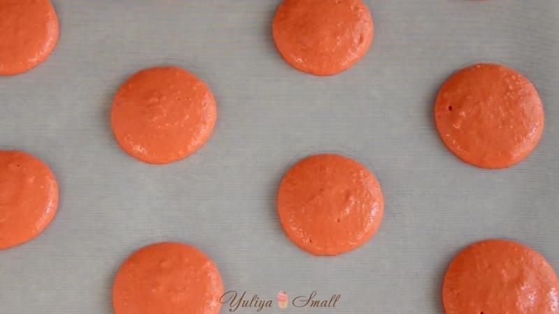 Макарон на французской меренге ☆ Начинка КРЕМ карамель Больше рецептов в группе Десертомания